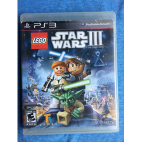 Lego Star Wars Iii 3 The Clone Wars Ps3 Midia Fisica