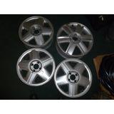 Vendo 4 Rines # 15 De Renault De Aluminio