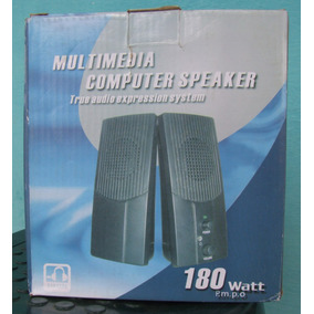 Cornetas Multimedia True Audio Expression System 180 Watt.