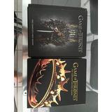 Blu Rays Game Of Thrones 1ª E 2ª Temporadas Usadas