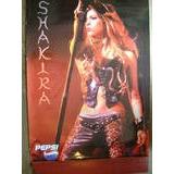Shakira Poster Promocional Pepsi En Buenas Condiciones