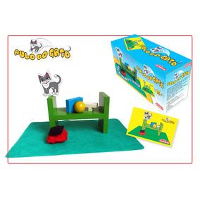 Jogo Pulo Do Gato Em Madeira Nina Brinquedos Educativos