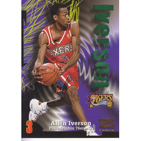 9e765877a77 1997-98 Skybox Zforce Allen Iverson Sixers #100