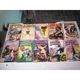 Coleção De Revistas Em Quadrinhos, X-men, Homem Aranha,c.ame