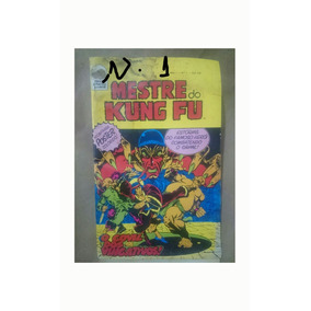 Mestre Kung Fu Número 1 Primeira Edição Com Poster