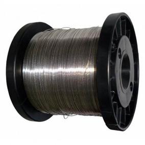 Fio De Aço Inox 0,60mm P/ Cerca Elétrica Rolo C/ 900g