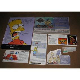 Os Simpsons 02 _ Lote De Recortes Originais