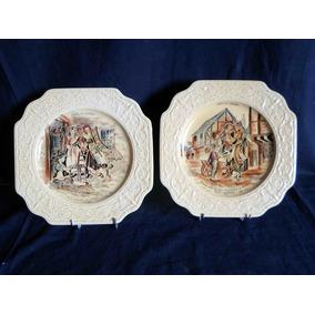 Plato Decorativo Cries Of London Crown Devon Loza Inglesa