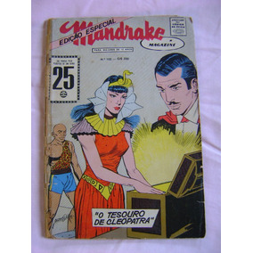Mandrake Magazine (ed Especial) Nº 102 Rge Leia Anúncio!