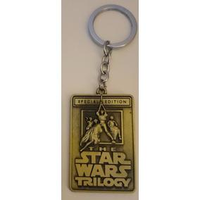 Chaveiro Star Wars De Metal - Importado - Trilogia