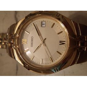 76b104ed467 Antigo Seiko Quartz Social Dourado - Relógios no Mercado Livre Brasil