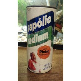 Antigo Sapólio Radium Com Pinho
