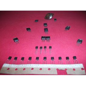 Kit C/25 Unidades De Transistor - 12 Tipos Diferentes