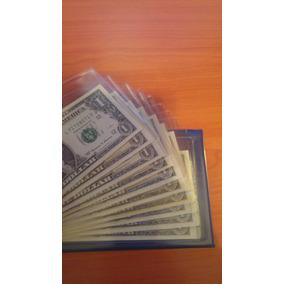 10 Billetes Correlativos 1 Dolar Año 1999 Sin Circular