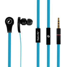Fone De Ouvido Rock Azul Com Microfone