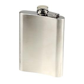 Cantil Porta Bebida Bolso Flask Inox Vodka Whisky Cana No Rj
