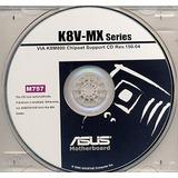Cd Drivers Original Placa Mae Asus K8v-mx