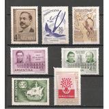 Argentina - Año 1960 - Lote De Sellos Mint