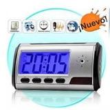 Espia Reloj Usb 2gb Micro Sd Audio Video Foto Camara Led Dvr