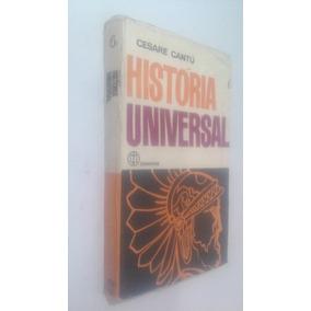 Livro Historia Universal - Volume 6 - Cesare Cantú