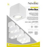 Plafon Box 4 X Par 20 219x219x105mm New Line In40134bt
