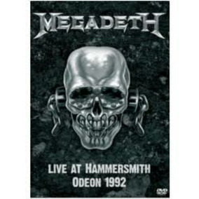 Dvd Megadeth Live At Hammersmith Odeon 1992