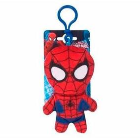 Homem Aranha Spider Man Bagclip Chaveiro Pelúcia Marvel