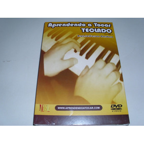 Dvd Aprendendo A Tocar Teclado Vol 1 Prof Jeffersson Cardoso