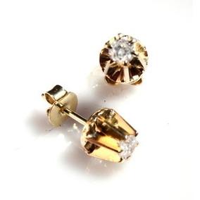 77bde065a7f16 Brinco De Ouro 18k Com 32 Diamantes Monte Carlo Femininos - Brincos ...