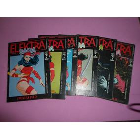 Hq Elektra Saga Mini-serie Completa 1 Ao 6 Raro Edi. Abril