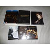 Box Raro Edição Europeia Blu-ray Game Of Thrones 02 Temp