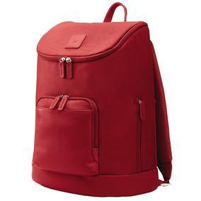 Mochila Feminina Hp Cayman Para Notebook 15,6 Vermelho