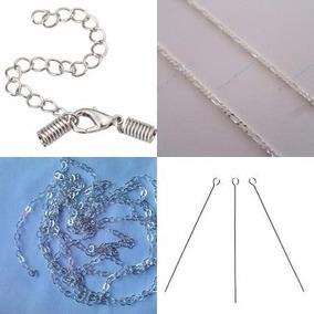 bcada01f747a Material Para Armar Bisuteria Plata Dorado Oro Viejo Cristal