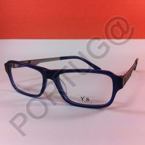 Armação Azul Social Unissex Óculos Lentes De Grau Ótica 6073 5b68415b9b