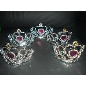 12 Corona Princesa Tiara Plata Fantasia Fiesta Boda Evento edf8fac5a3c