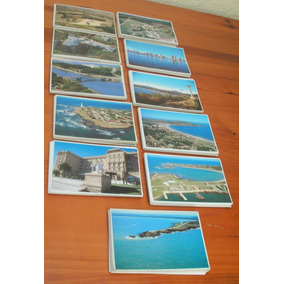Lote 15 Tarjeta Postal Uruguay La Paloma Punta Casa Pueblo