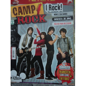 Revista-camp Rock 2 Oficial+poster-joe Jonas,disney Channel