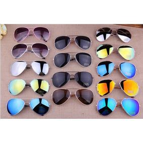 b9c9a71be95a8 Kit 5 Oculos Sol Aviador Unissex Sem Marca Atacado Revenda