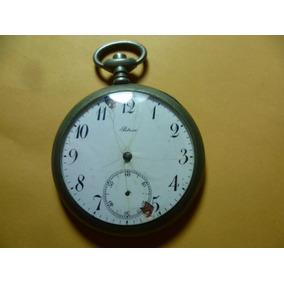 Antiguo Reloj De Bolsillo Sin Manecillas Y Para La Cuerda.