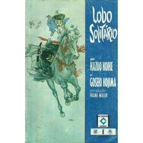 Lote Mangás Lobo Solitario Editora Sampa Nºs 8, 3, 2 E 6