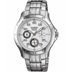 Relógio Casio Edifice Ef-317 D Análogo Calendário Wr-100m B