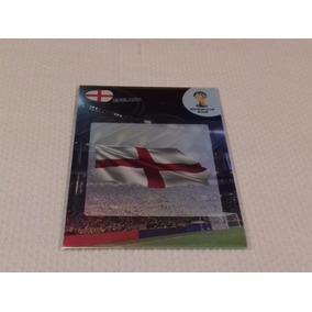 Card: Adrenalyn Copa 20014 - Logo - Inglaterra