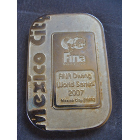 Medalla Mexico City, Serie Mundial De Clavados 2007,en Bue