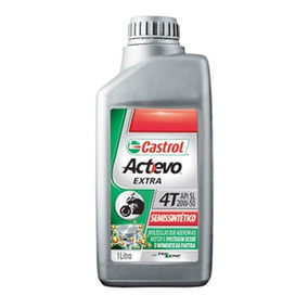 Oleo Moto Castrol 4t 20w50 Actevo Extra Semissintético
