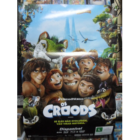 Poster Os Croods - Frete: 8,00