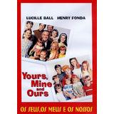 Dvd - Os Seus, Os Meus, Os Nossos - 1968