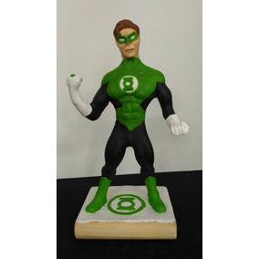 Miniatura Lanterna Verde 21 Cm Biscuit