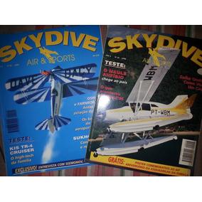 Revista Skydive By Air & Sport 2 Volumes Por R$10,00