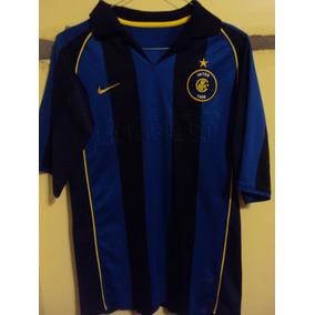 Camiseta Fútbol Inter Milan Italia Nike Vieri  10 2002 2003.   650 2b9adc472fa90