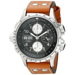 921ddc6b4ad Rélogio Hamilton H77616533 Khaki Cronografo Automatico 44mm